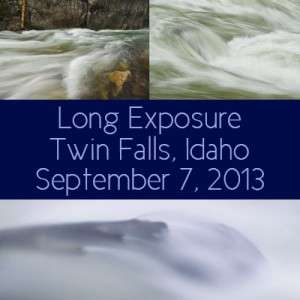Long exposure mini workshop, Twin Falls, ID